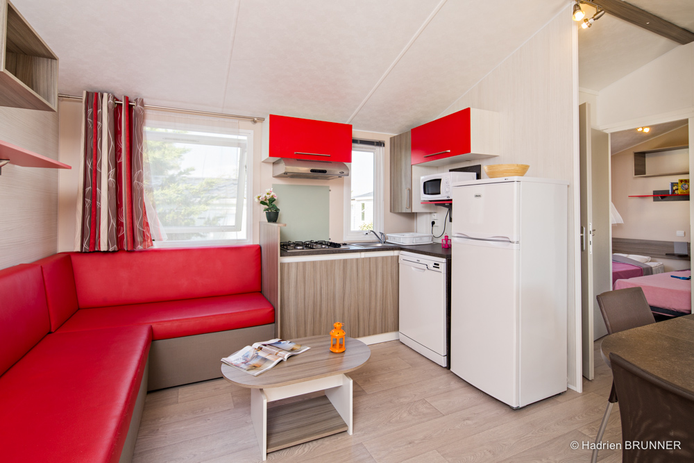 reportage photo camping mobil home en vend e yelloh