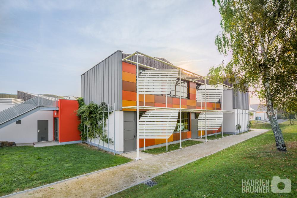 Architecture Photographe Ecole et Bâtiment Guerande - Hadrien BRUNNER