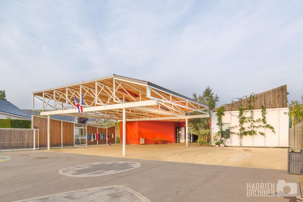 Photographe Ecole Guerande architecture - Hadrien BRUNNER