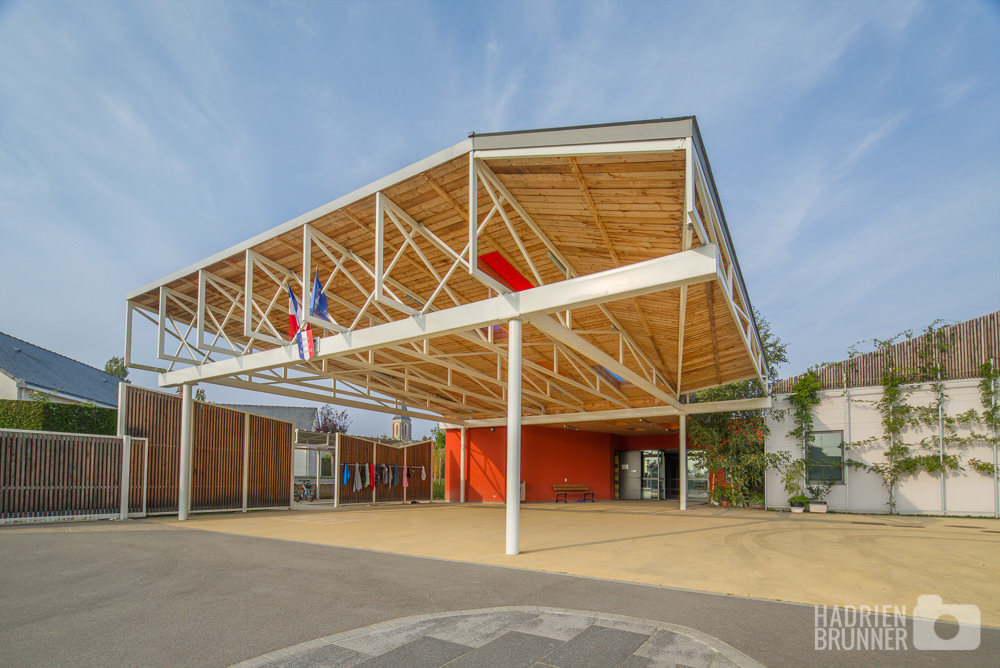 Photographe pro Architecture Ecole Loire-Atlantique - Hadrien BRUNNER