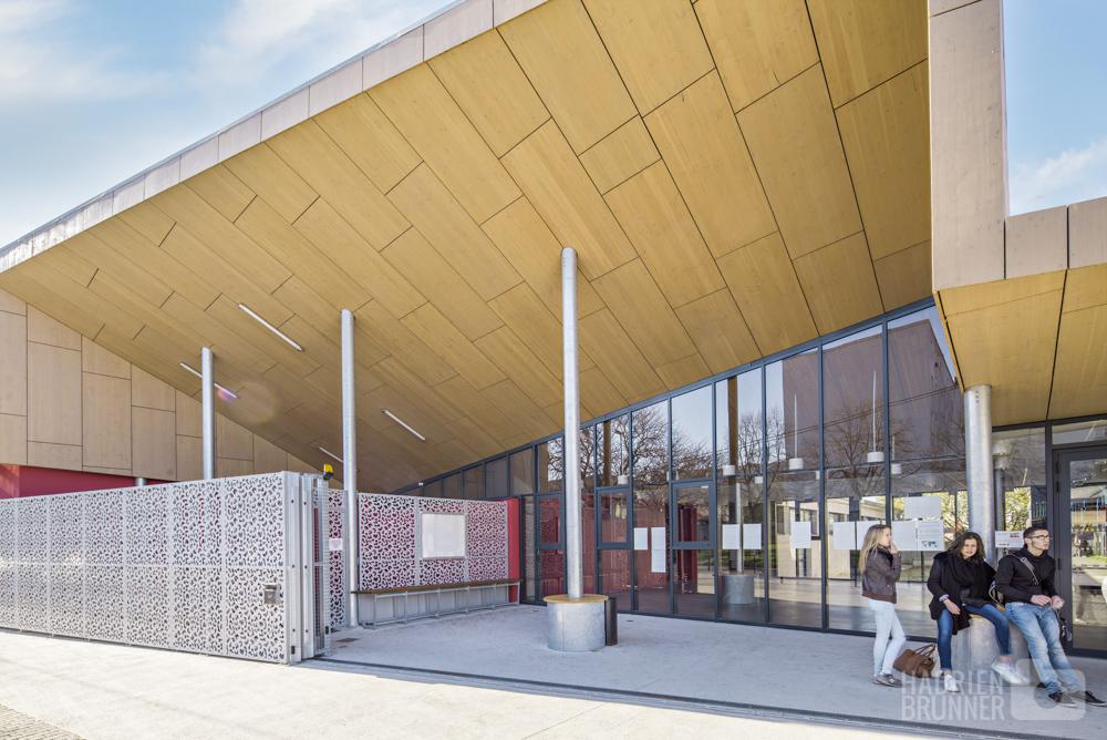 Photographe architecture lycée Nantes