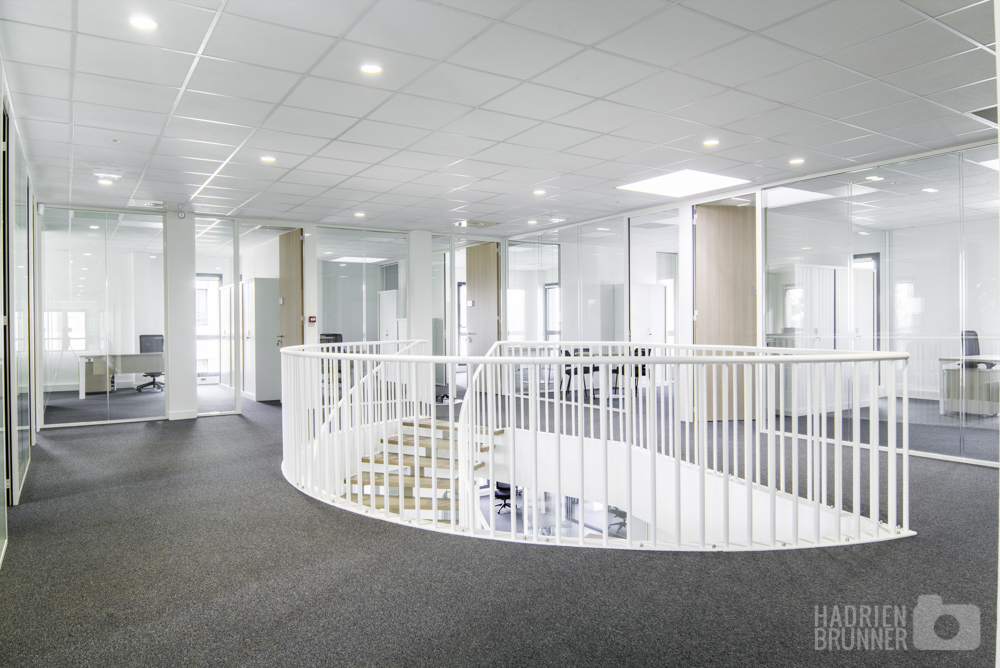 Reportage photo architecture entreprise Nantes