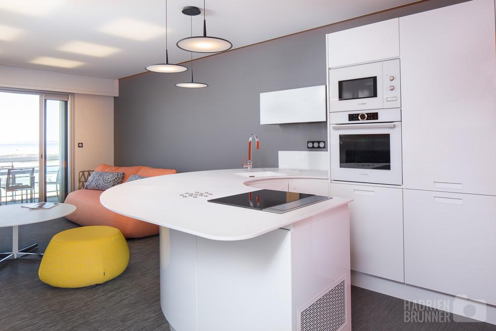 Photographe architecture bretagne appartement au pouliguen for Photo appartement design