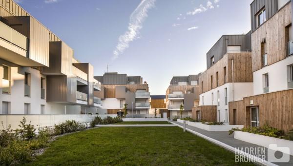 Architecture Photographe Habitat Collectif - Hadrien BRUNNER