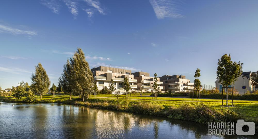 Habitat collectif Gimbert Architecte - Photographe Hadrien BRUNNER