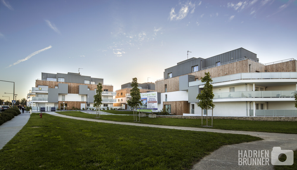 Photographe architecture habitat collectif - Hadrien BRUNNER