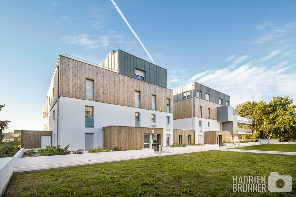 Photographe logements collectifs Nantes - Hadrien BRUNNER