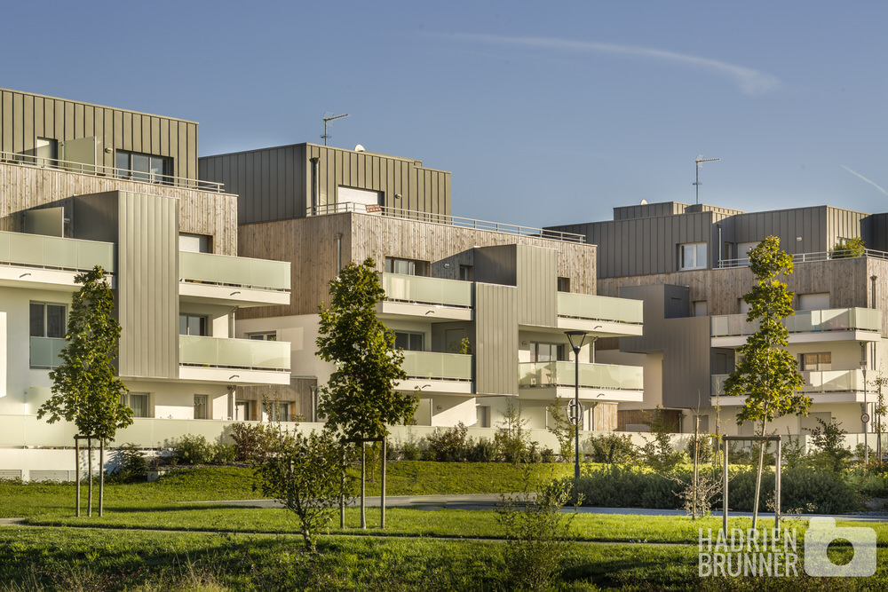 Shooting architecture habitat Nantes - Hadrien BRUNNER