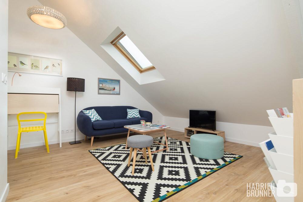 Photos d 39 int rieur pour appartement louer saint nazaire - Location meuble saint nazaire ...