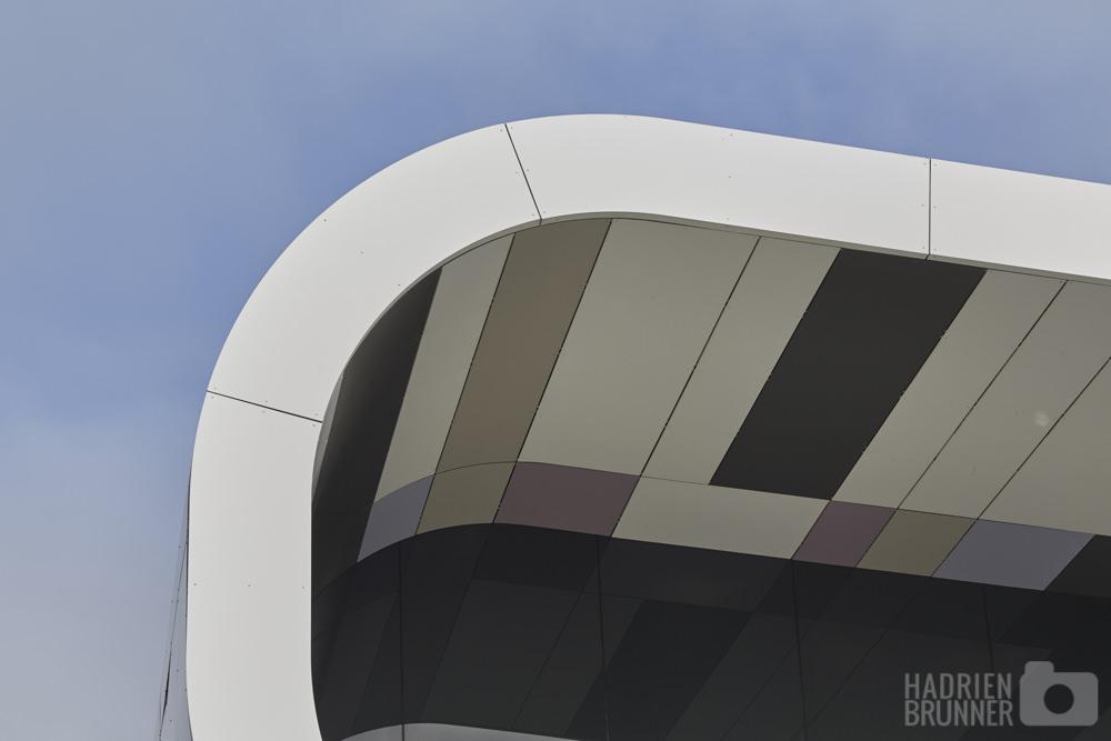 Rocheteau saillard chu d 39 angers plateau technique de for Batiment architectural