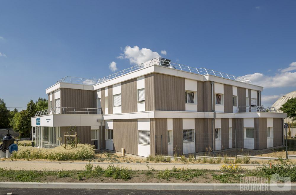 Photographe architecture pays de Loire - bâtiment Stran Saint Nazaire
